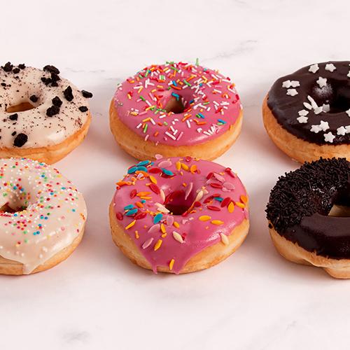 Gevarieerde Donuts (6 stuks)
