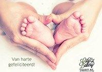 Kaartje geboorte