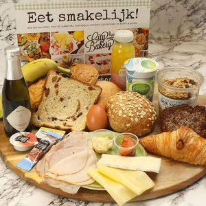 Luxe vaderdag ontbijtservice met bubbels