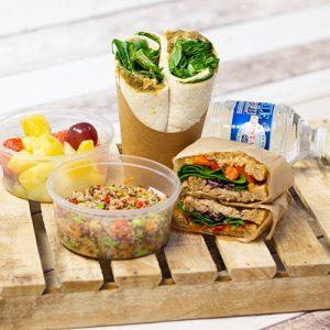 Vegan lunchpakket 'Lekker compleet'